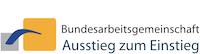 Logo der Bundesarbeitsgemeinschaft Ausstieg zum Einstieg