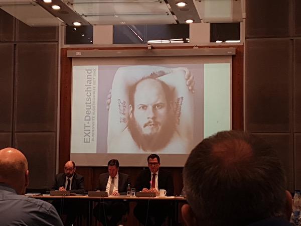Bild der 28. Sitzung des Ausschusses für Verfassungsschutz des Berliner Abgeordnetenhauses